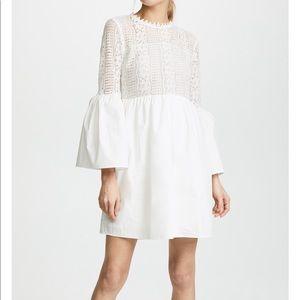 Endless rose lace white mini dress xs
